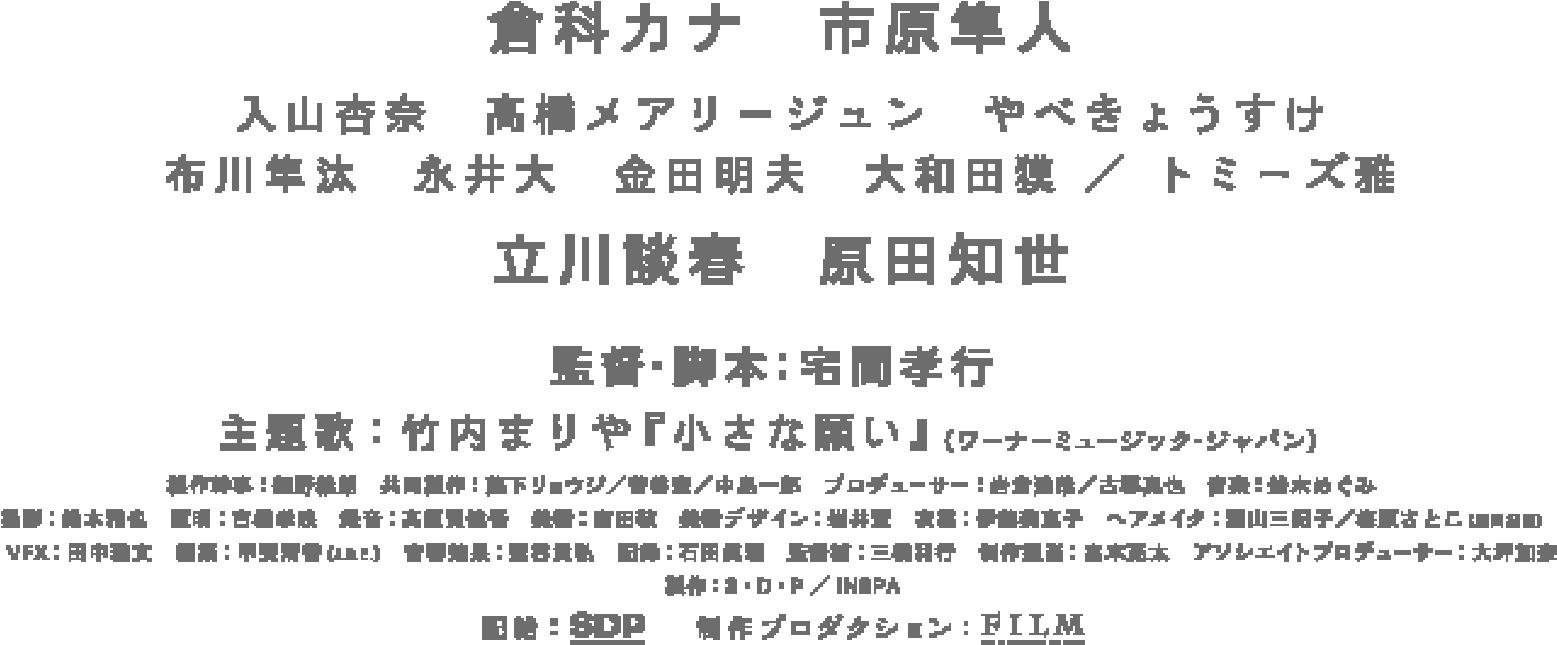 倉科カナ・市原隼人・立川談春・原田知世ほか出演。25年ぶりにめぐり逢った父と娘のたった5日間の物語。